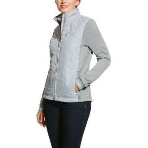Ariat Ladies Hybrid Insulated Jacket – Grey