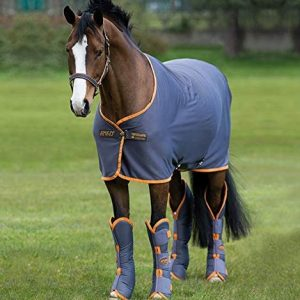 Horseware Pony Amigo Cooler- Excalibur/Orange