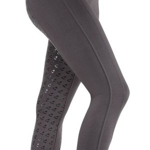 Childrens Aubrion Albany Riding Tights – Grey