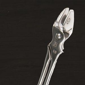 Jim Blurton Snake Eye Tongs 10mm / 3/8