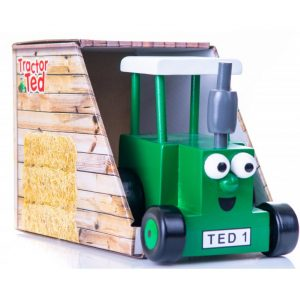 Tractor Ted Wooden Tractor Toy in Box