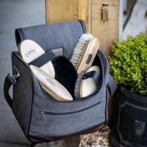 LeMieux Luxury Canvas Grooming Bag – Navy