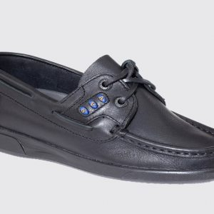 Dubarry Kapley Kid's Deck Shoe – Black