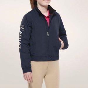Ariat Kids Stable Team Jacket – Navy