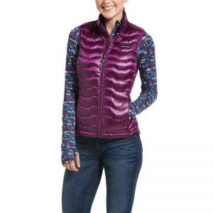 Ariat Ladies Ideal Down Vest – Imperial Violet