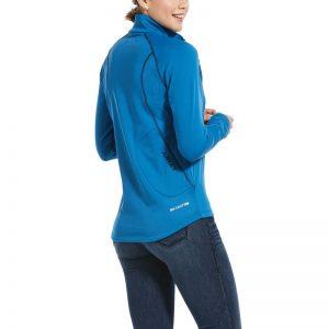 Ariat Ladies Conquest 2.0 1/2 Zip Sweatshirt – Blue Dawn