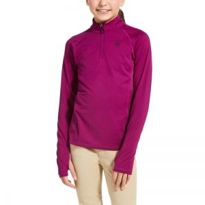 Ariat Kids Lowell 2.0 1/4 Zip Baselayer – Imperial Violet