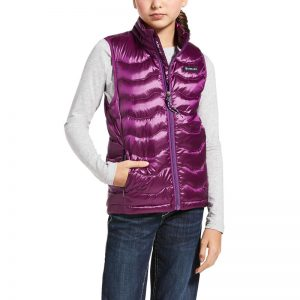 Ariat Girls Ideal 3.0 Down Vest – Imperial Violet