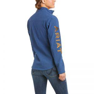 Ariat Ladies New Team Softshell Jacket – Marine Blue Heather