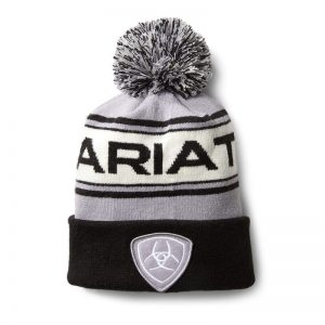 Ariat Team Beanie – Sleet/Black