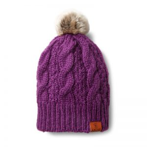 Ariat Cable Beanie – Imperial Violet