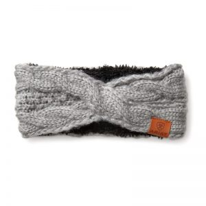 Ariat Ladies Cable Headband – Sleet