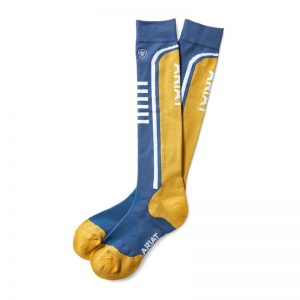 AriatTEK Slimline Performance Socks – Bluedawn/Sunshade