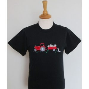 British Country Collection T-Shirt – Tractor and Sheep