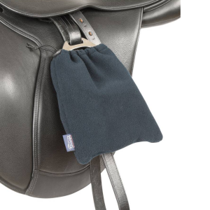 Shires Fleece Stirrup Covers – Navy