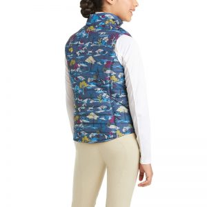 Ariat Kids Emma Reversible Insulated Vest – Multi