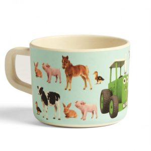 Tractor Ted My First Bamboo Mug – Baby Animals