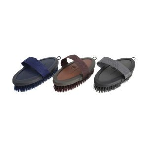 Coldstream Faux Leather Body Brush – Navy
