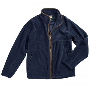 Hoggs Of Fife Men's Stenton Technical Fleece Jacket – Midnight Navy