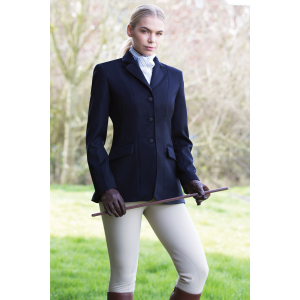 Equetech Kimblewick Wool Riding Jacket – Navy