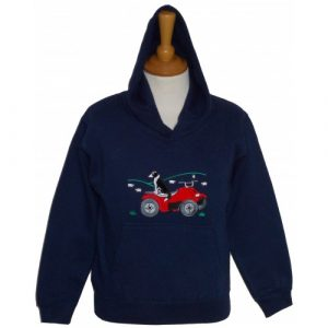 British Country Collection Hoodie – Quad Bike & Collie
