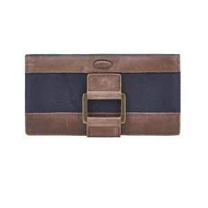 Dubarry Dunbrody Leather Purse – Navy/Brown