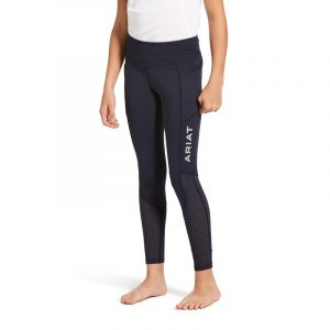 Childrens Ariat EOS Full Seat Tights – Navy