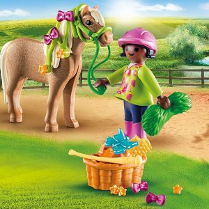 Playmobil – Girl with Pony