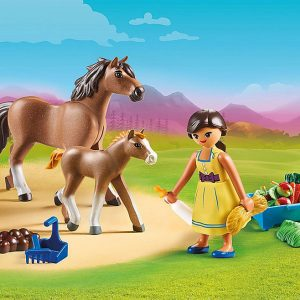 Playmobil – Pru with Horse and Foal