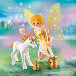 Playmobil – Sun Fairy with Unicorn Foal