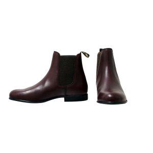 Childrens Supreme Products Show Ring Jodhpur Boots – Oxblood
