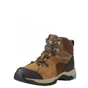 Ariat Ladies Skyline Mid Waterproof – Distressed Brown