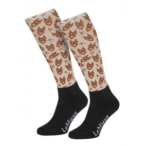 LeMieux Adult Footsie Sock – Owl