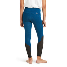 Childrens Ariat EOS Full Seat Tights – Blue Opal