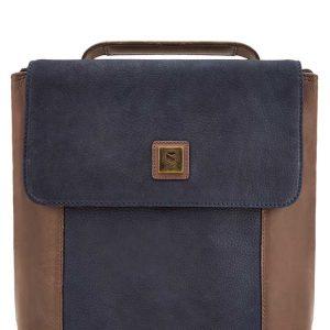 Dubarry Dingle Convertible Bag – Navy/Brown