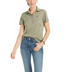 Ariat Ladies Talent Polo – Winter Moss