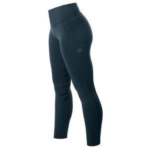 Ladies Equetech Inspire Riding Tights – Peacock Blue