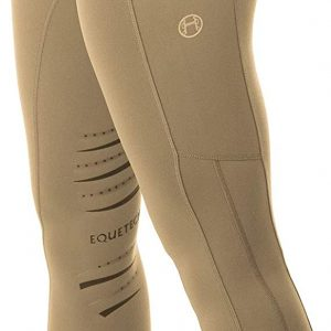 Ladies Equetech Inspire Riding Tights – Beige