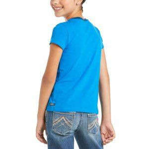 Ariat Kids Rainbow Wishes T-Shirt – Navy