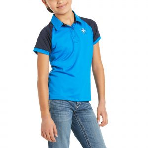 Ariat Kids Team 3.0 Polo – Imperial Blue