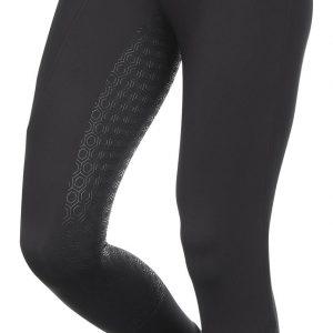 Ladies LeMieux Activewear Seamless Pull On Breech – Black