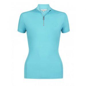 LeMieux Activewear Short Sleeve Base Layer – Azure