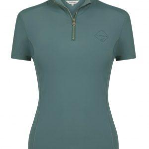 LeMieux Activewear Short Sleeve Base Layer – Sage
