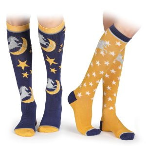 Shires Adults Bamboo Socks – Horse Design