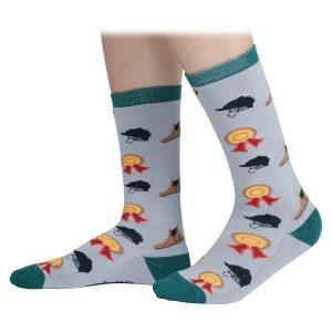 Shires Childs Tikaboo Socks – Grey