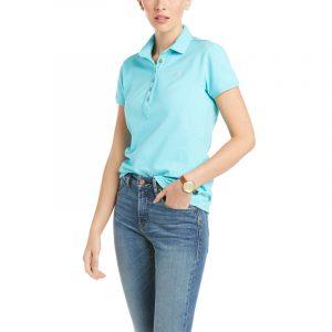 Ariat Ladies Prix 2.0 Polo – Cool Blue