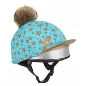 Mini LeMieux Pom Pom Hat Silk – Azure