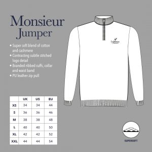 LeMieux Monsieur Mens Crew Jumper – Oak Green