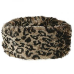 Dubarry Faux Fur Headband – Leopard