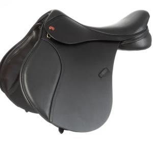 Kent and Masters Pony Club GP Saddle – Black 16.5″